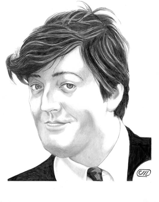 Stephen Fry by Deathbygraphite