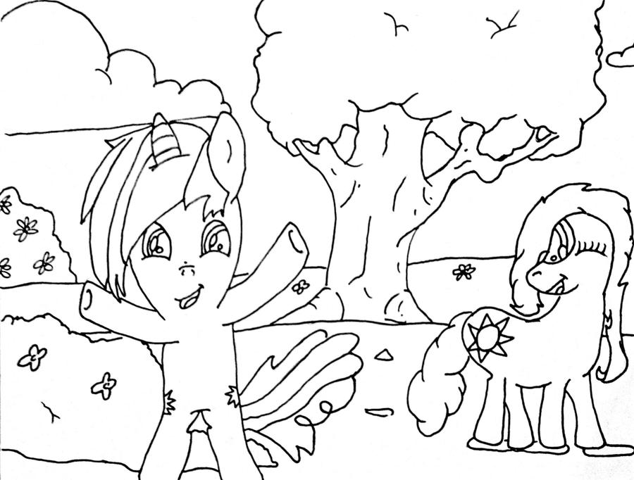 Coloring Page reupload by godlyrapture