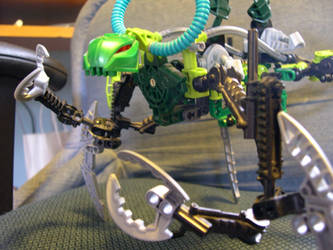 mantis and matoran 3 by legocentric