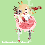 Bad Girl Pixel Art by lucki-marshmallow