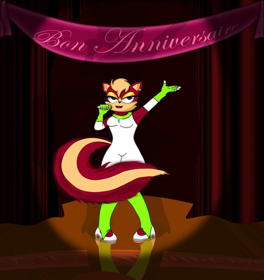 Bon Anniversaire, Karn! (Gift) by dwaters220