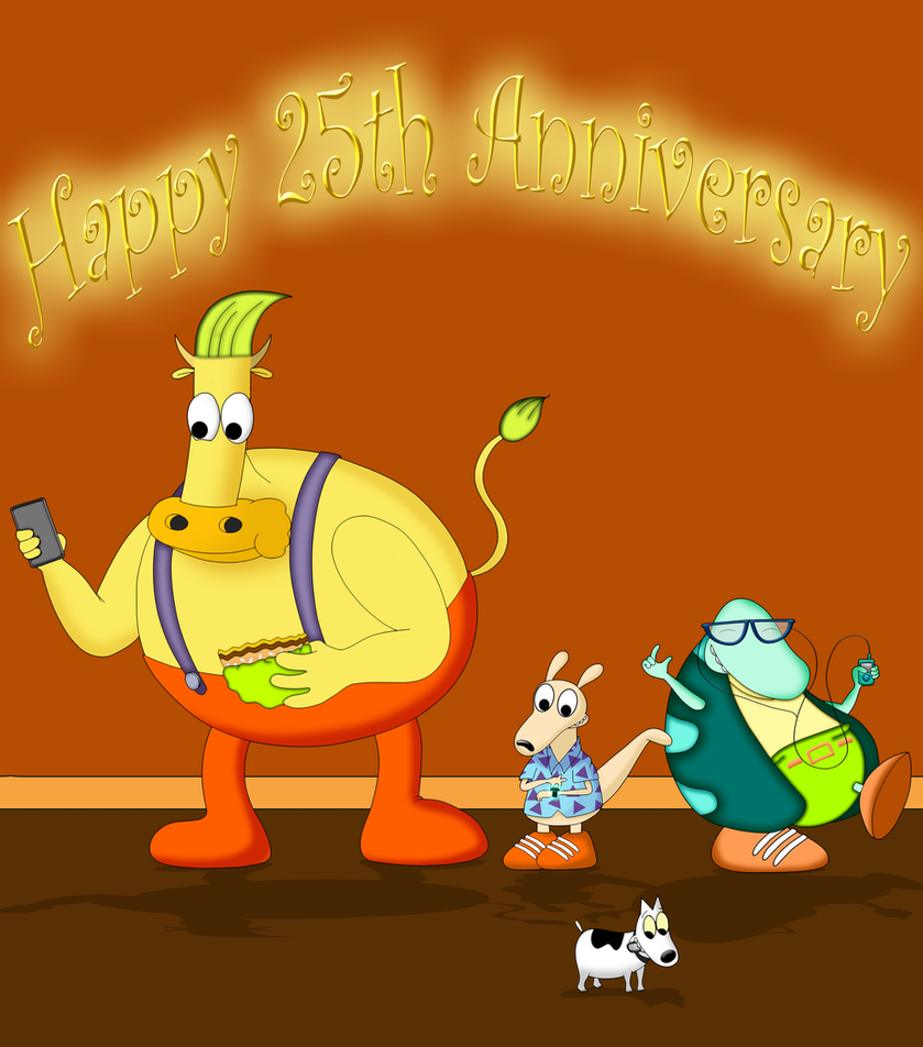Rocko's Modern Anniversary by dwaters220