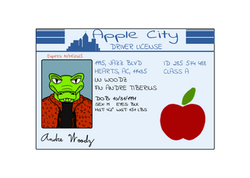 Andre's Driver's License by dwaters220