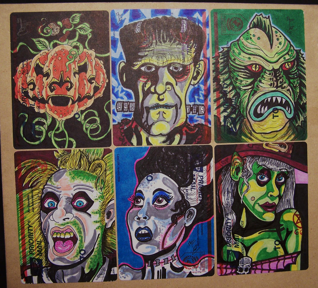 Monster Mash by frankenthing