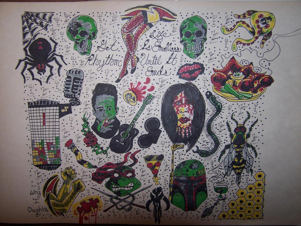 traditional tattoo flash wallpaper - photo #22