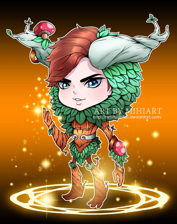 Chibi with Costume Ivern LOL by HimitsuMitsu