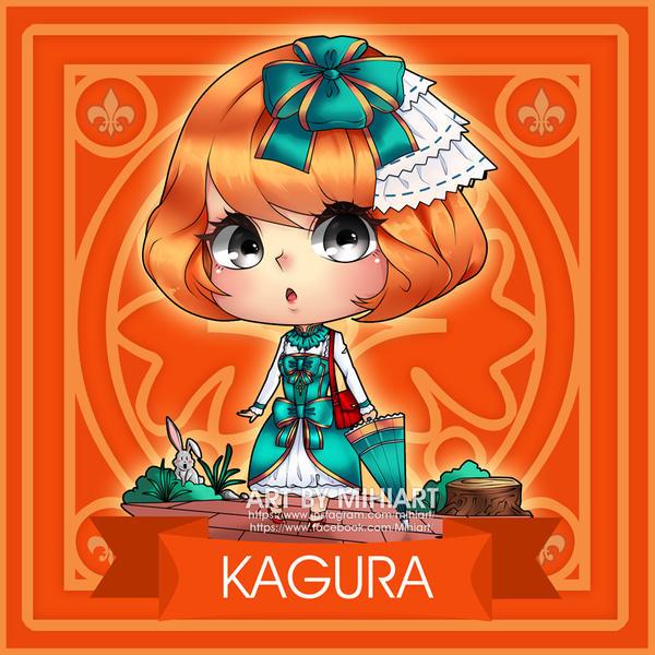Fanart Chibi Kagura Mobile Legends By HimitsuMitsu On