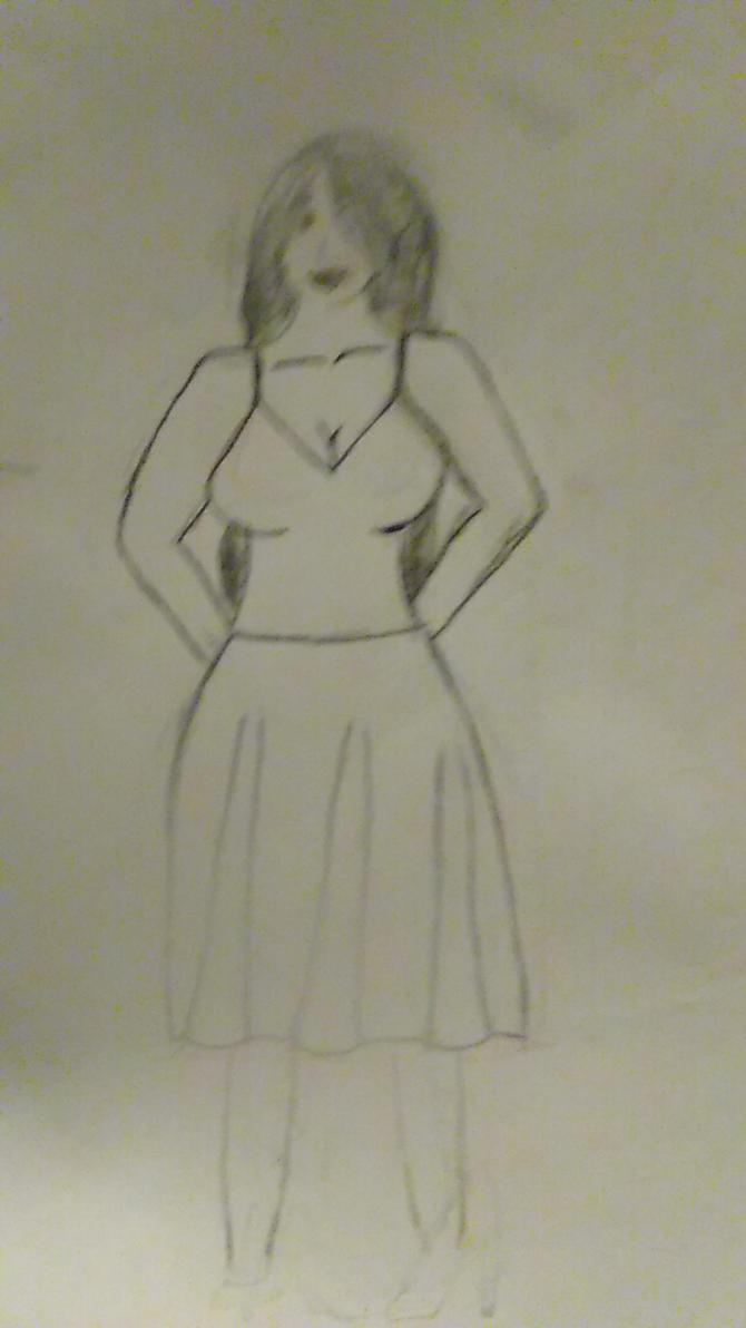 woman by ddisbae