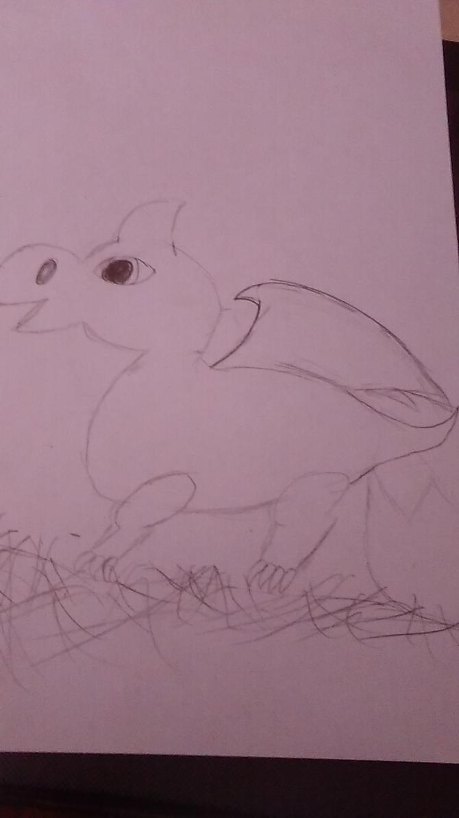 baby dragon by ddisbae