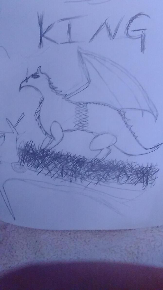grown dragon by ddisbae