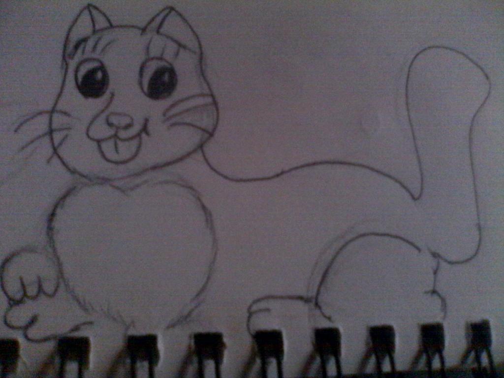 cat by ddisbae