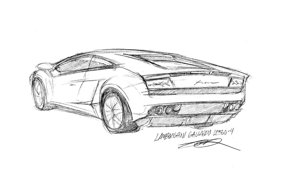 Car Sketch Experiment By 73554B On DeviantArt