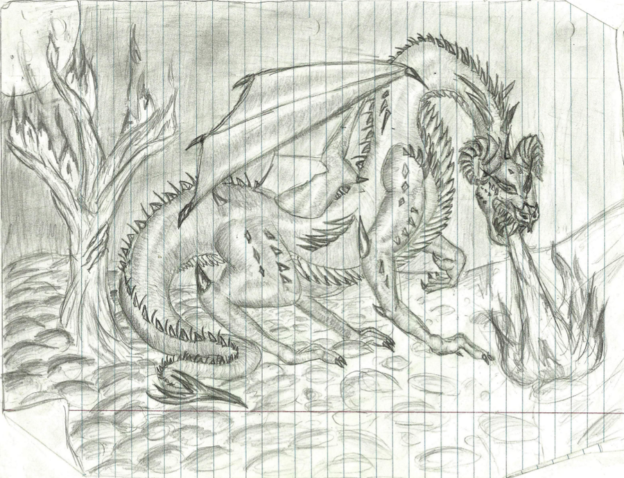 Demonic Dragon by sirkles