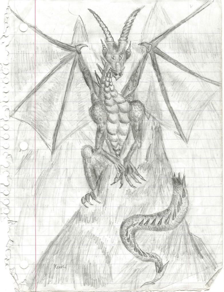 Mountain Dragon by sirkles