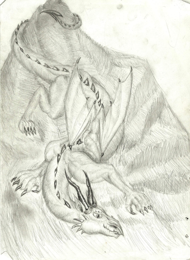Big Dragon by sirkles