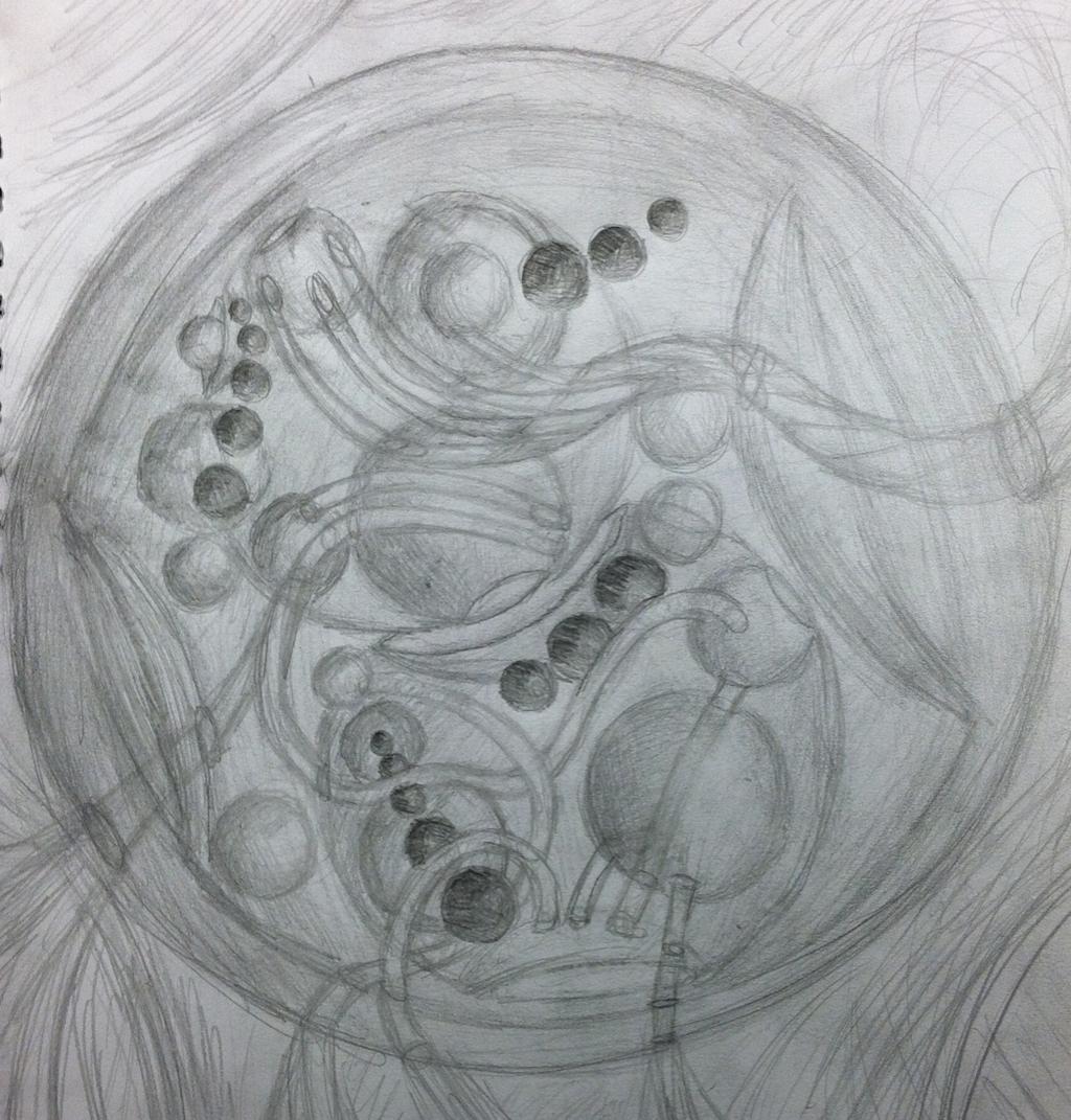 Spherical Gallifreyan by sirkles