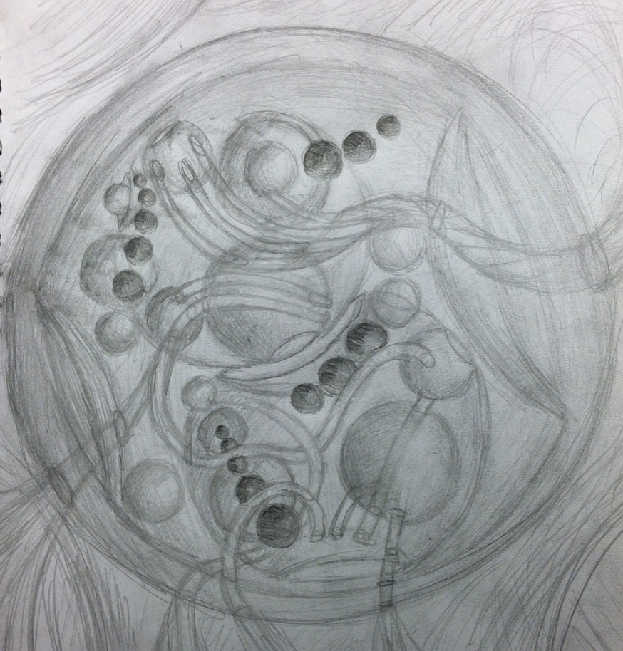 Spherical Gallifreyan by sirkles