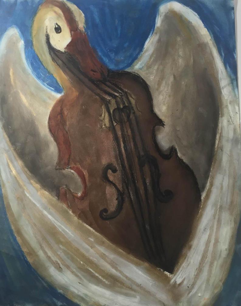Cello bird by sirkles