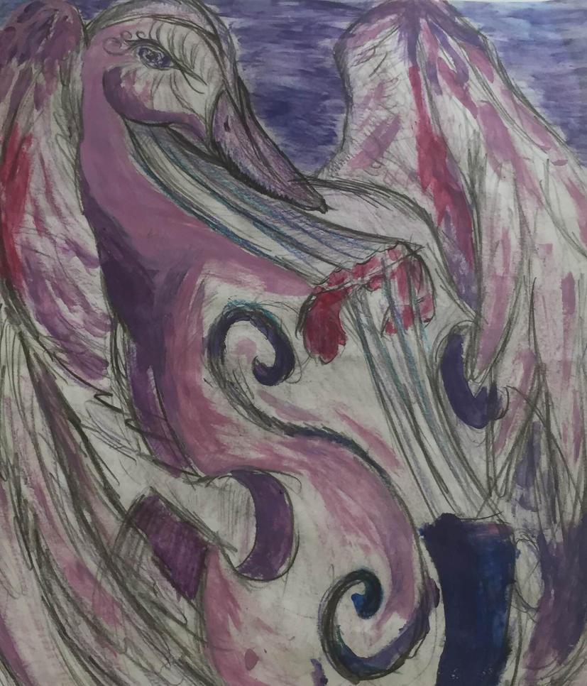 twilight cello bird by sirkles