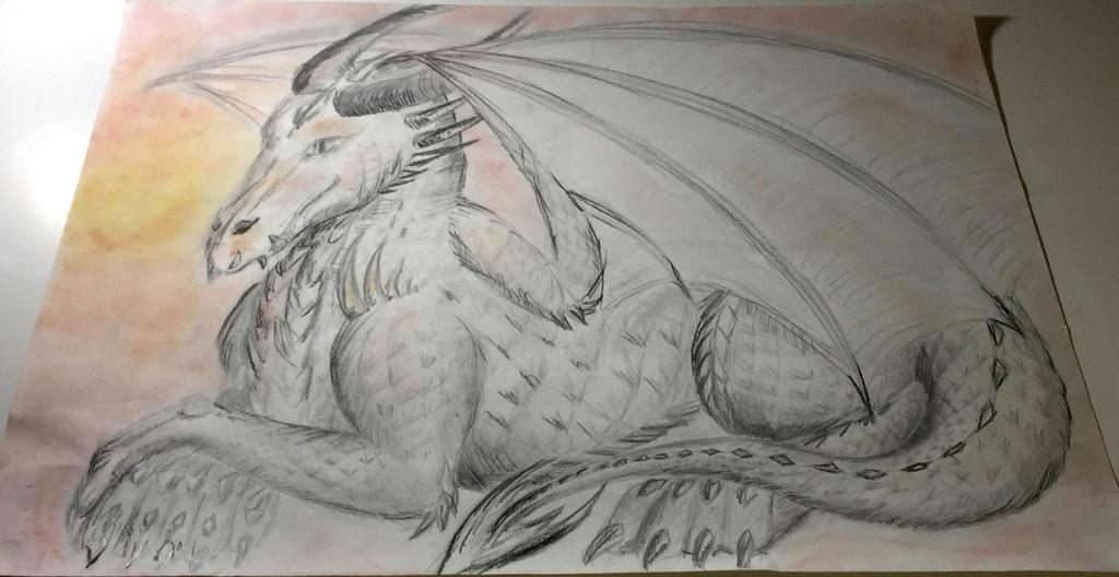 Proud dragon by sirkles