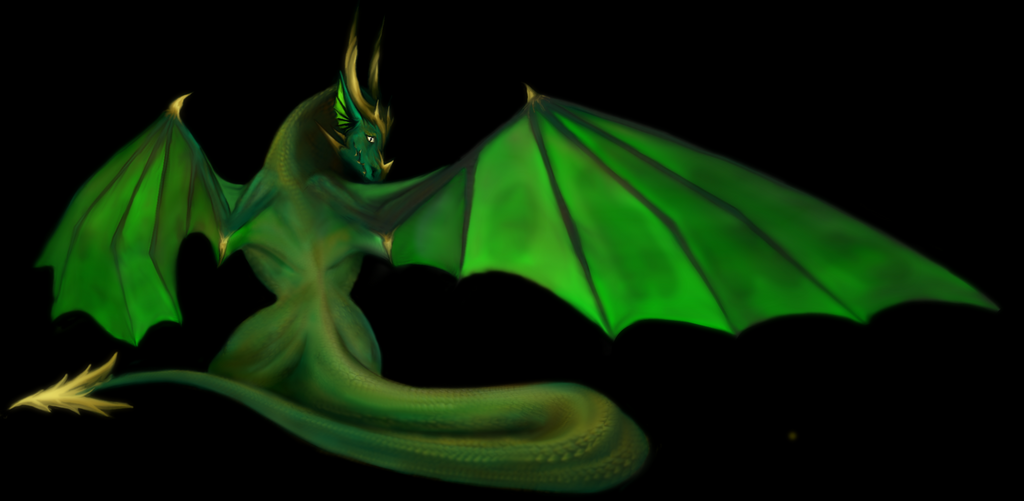 Green Dragon by sirkles