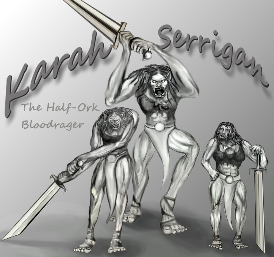 My Pathfinder Society Character: Karah Serrigan by sirkles