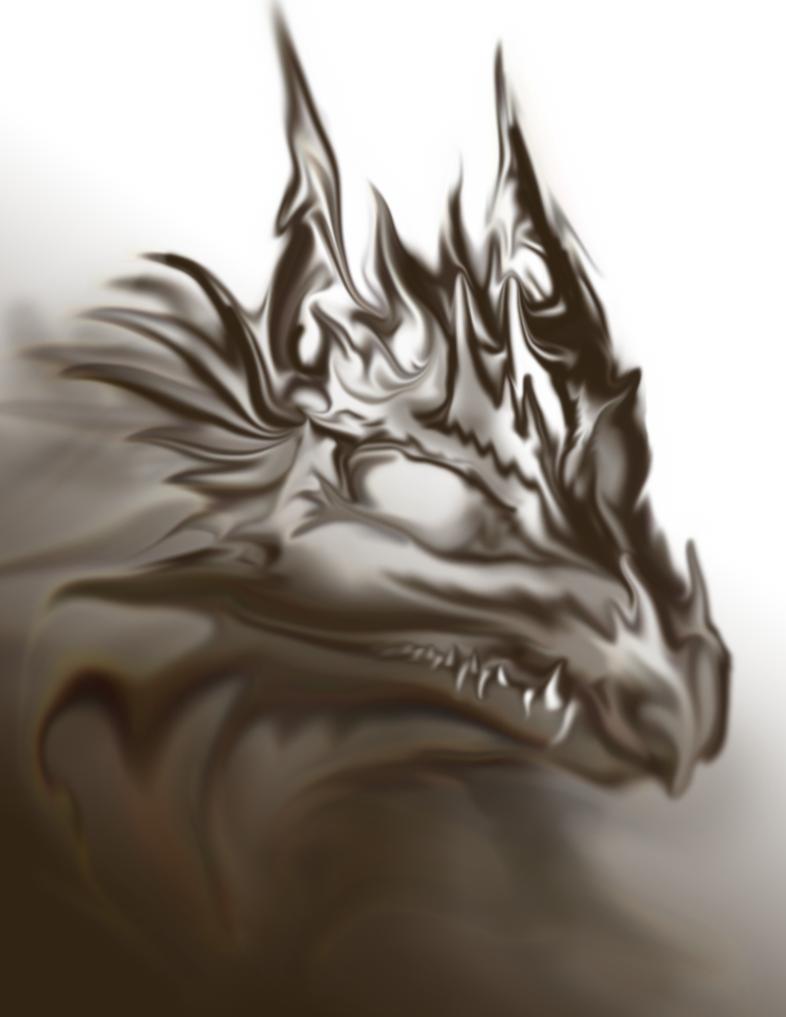 Smoke Dragon by sirkles