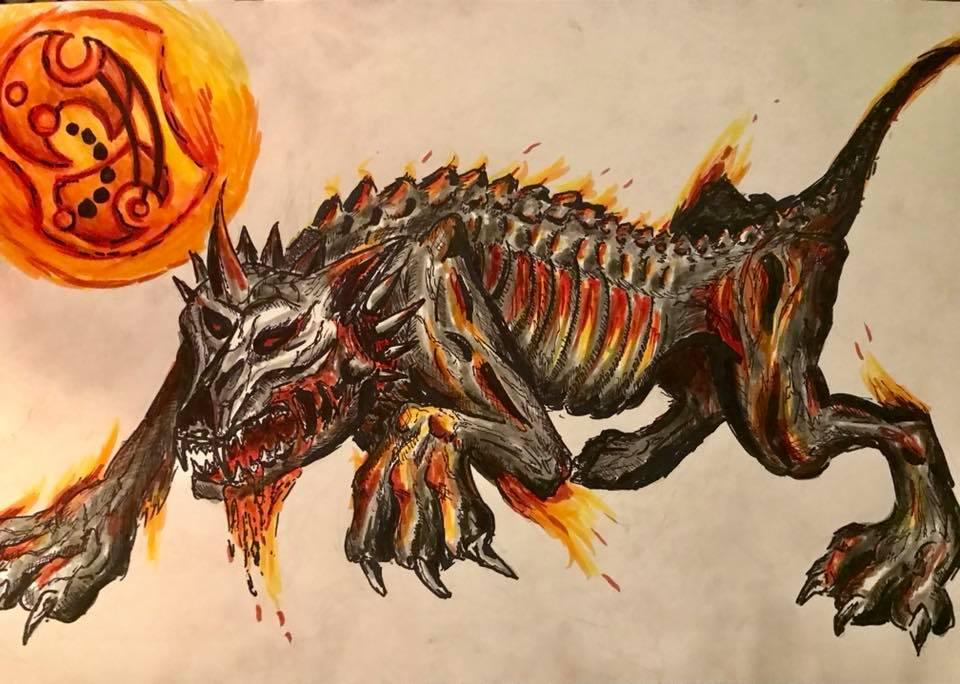 Hellhound by sirkles