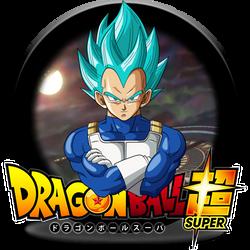 Dragon Ball Super Vegeta (SSB) Dock Icon by DudekPRO