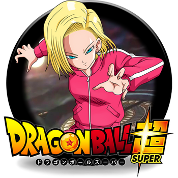 Dragon Ball Super Android 18 Dock Icon by DudekPRO