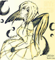 Lone Angel by ToBatmanWithLove