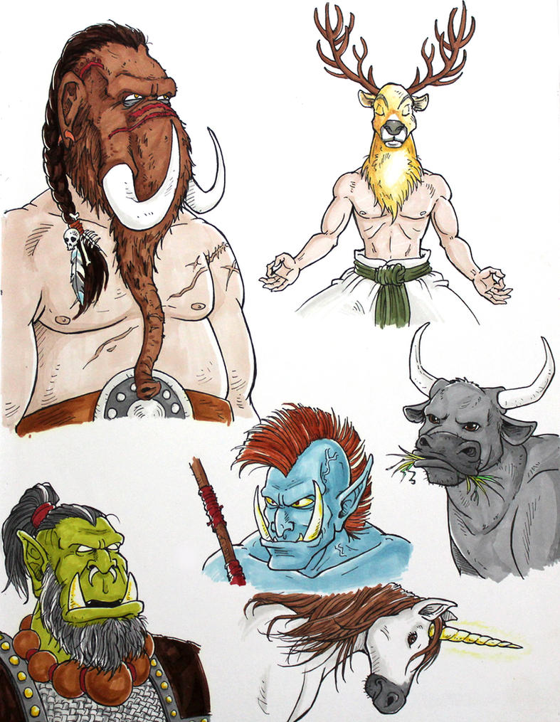 horns and tusks by fieveltrue