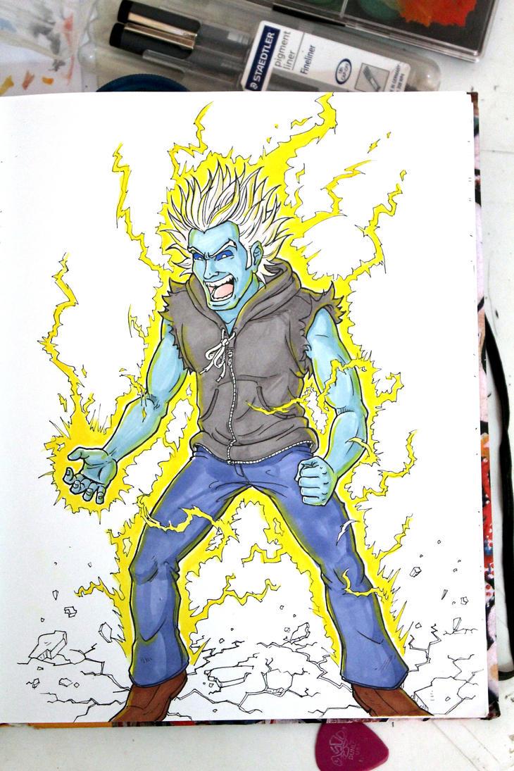 Electric jogger by fieveltrue