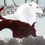 Winter Escort [Dracarys + Rocko - DotW] by Shichibi