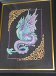Mythical Dragon Cross Stitch