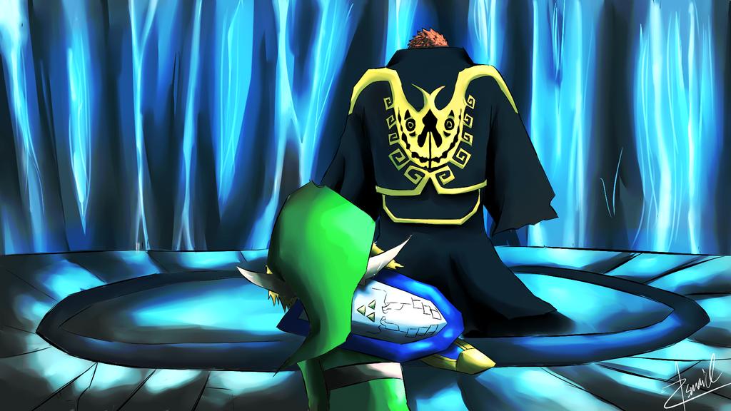 Zelda Wind Waker Boss Art: Zelda Wind Waker Hd Gohdan Boss