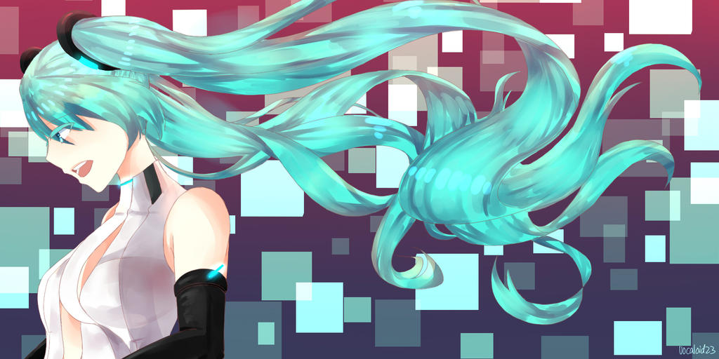 Miku Append by Vocaloid23