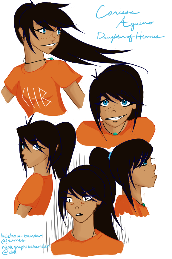 Carissa Aquino Daughter Of Hermes Pjo Hoo Oc By Heichou