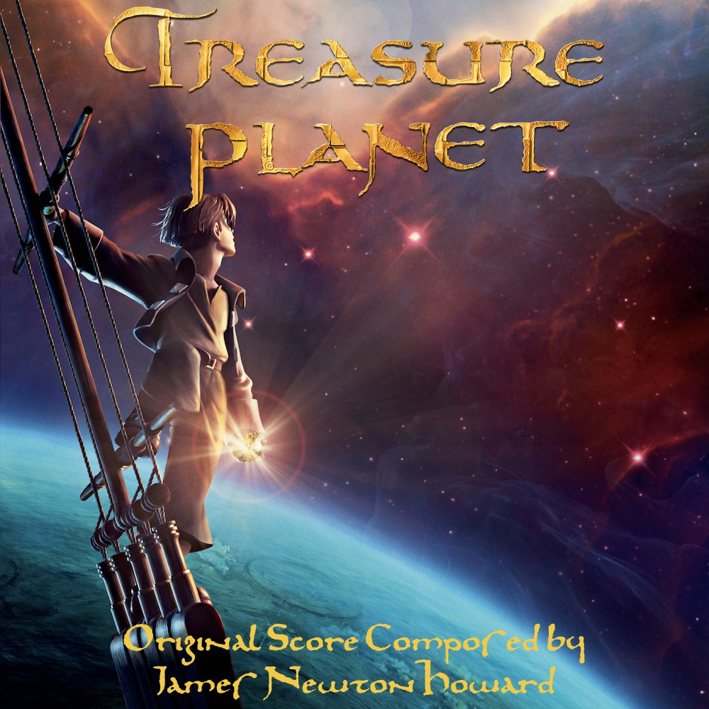 Treasure Planet Score (Cust. Cover #1) By Sparkylightning3