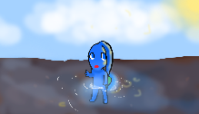 Blue Pikmin Pixels by fragilistic05