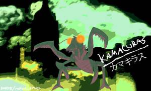 Kamacuras - the first kaiju