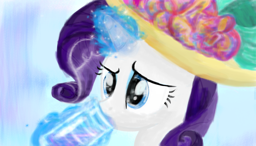 I'm Listening - Rarity by SJArt117