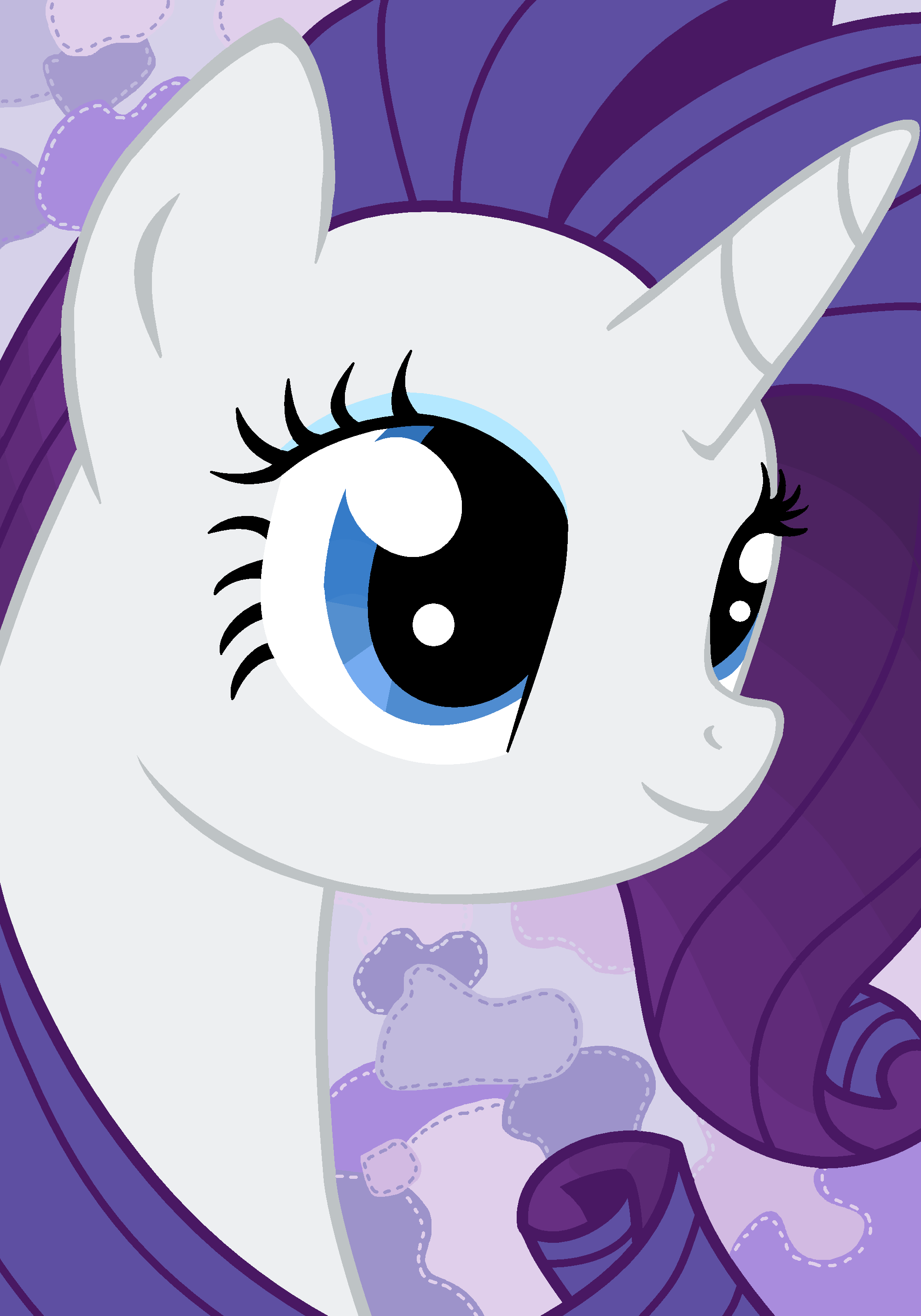 Can I Help You? - Rarity - Mspaint by SJArt117