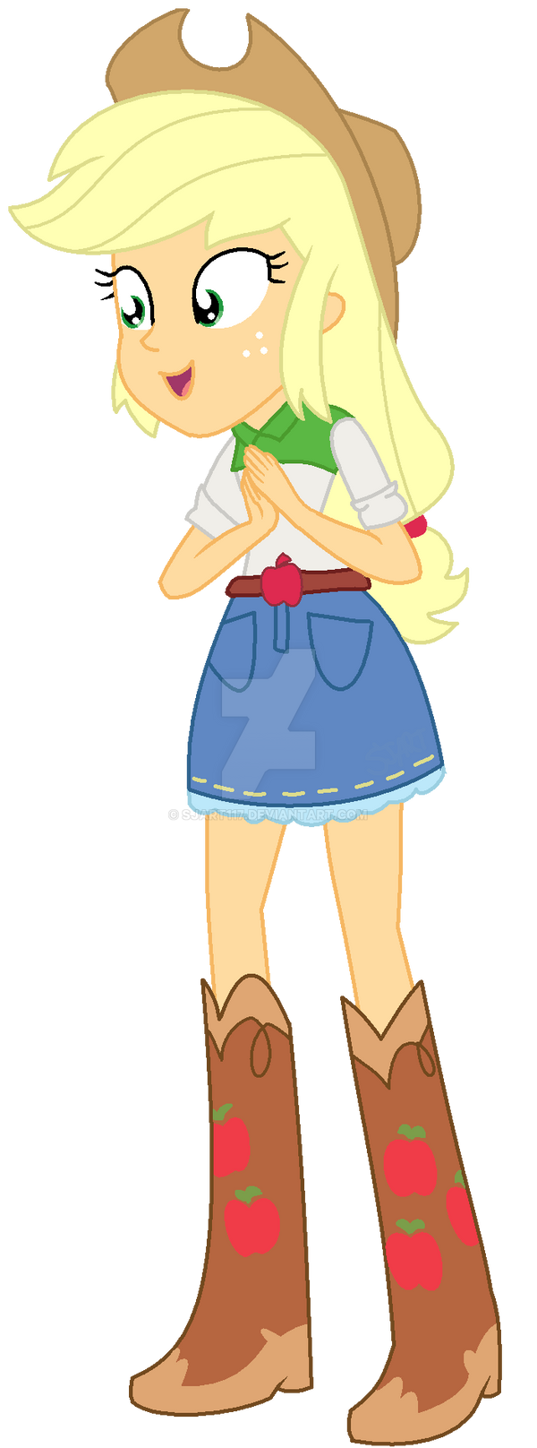 Equestria Girls - Applejack by SJArt117