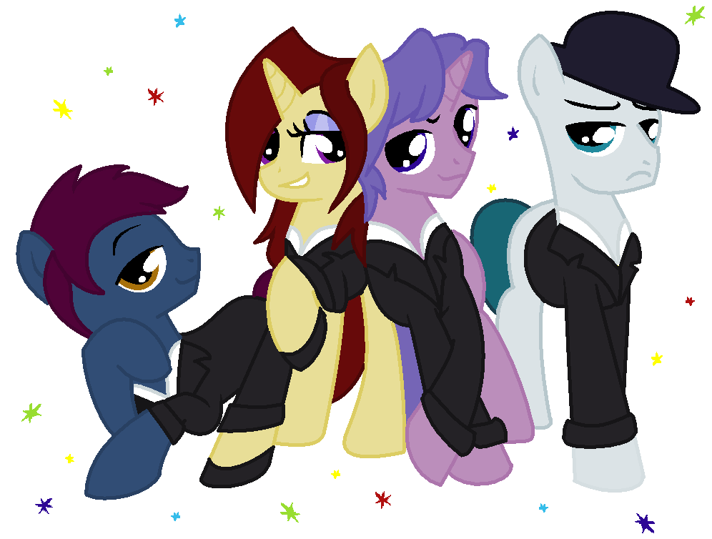 Now You See Me - The Four Horseponies by SJArt117