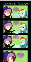 Lannies Little Laugh - Equestria Girls Comic