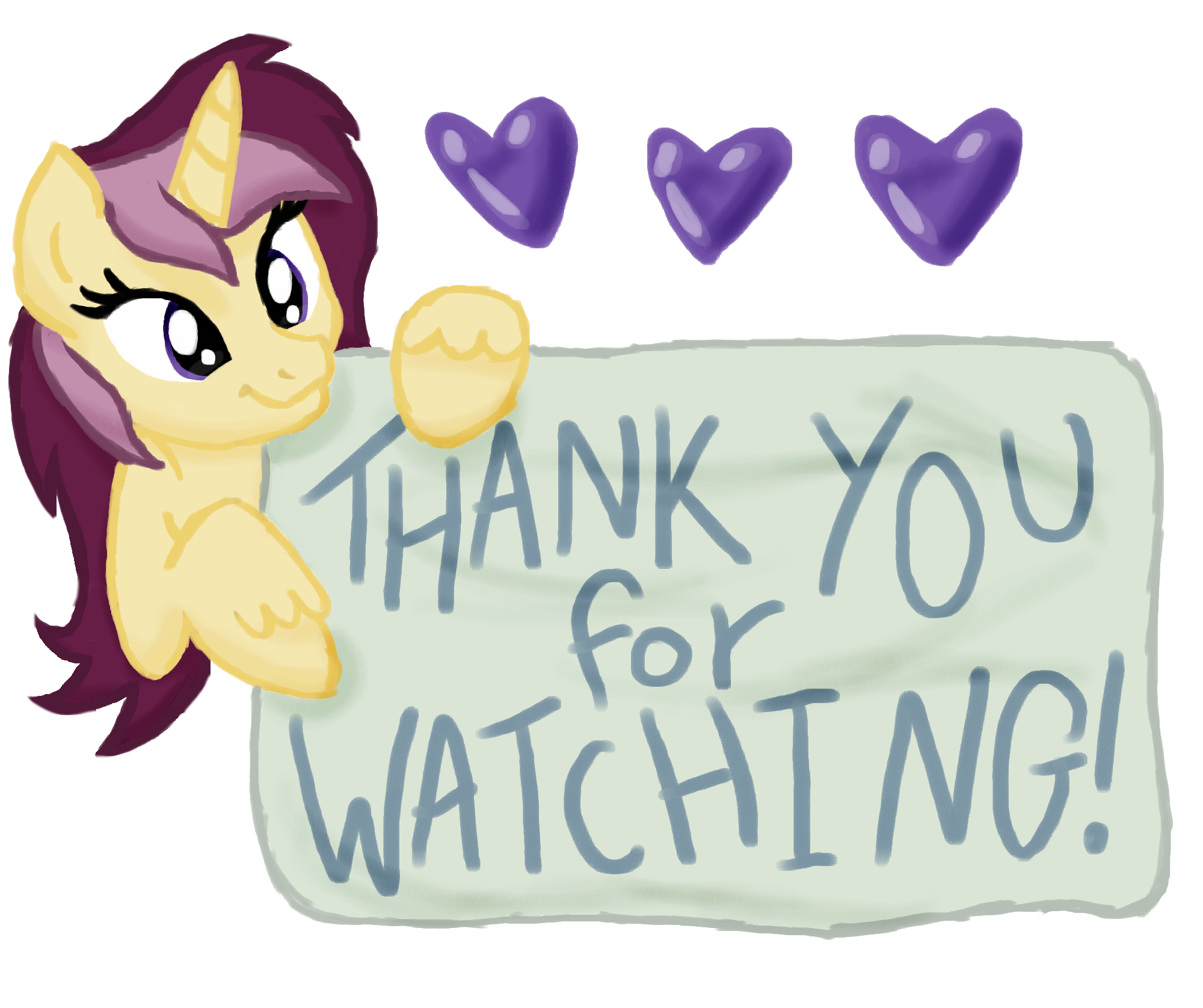 Thank You For Watching Me by SJArt117 on DeviantArt