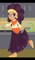 Saffron Masala - Equestria Girls-ified by SJArt117