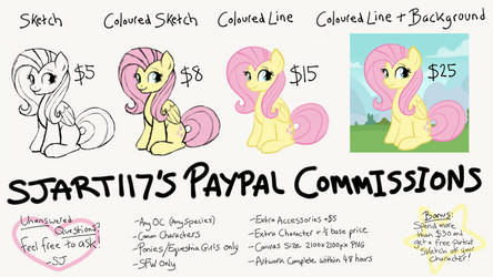 Simple Commission Sheet by SJArt117