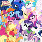 Don't You Know You're All My Very Best Friends by SJArt117